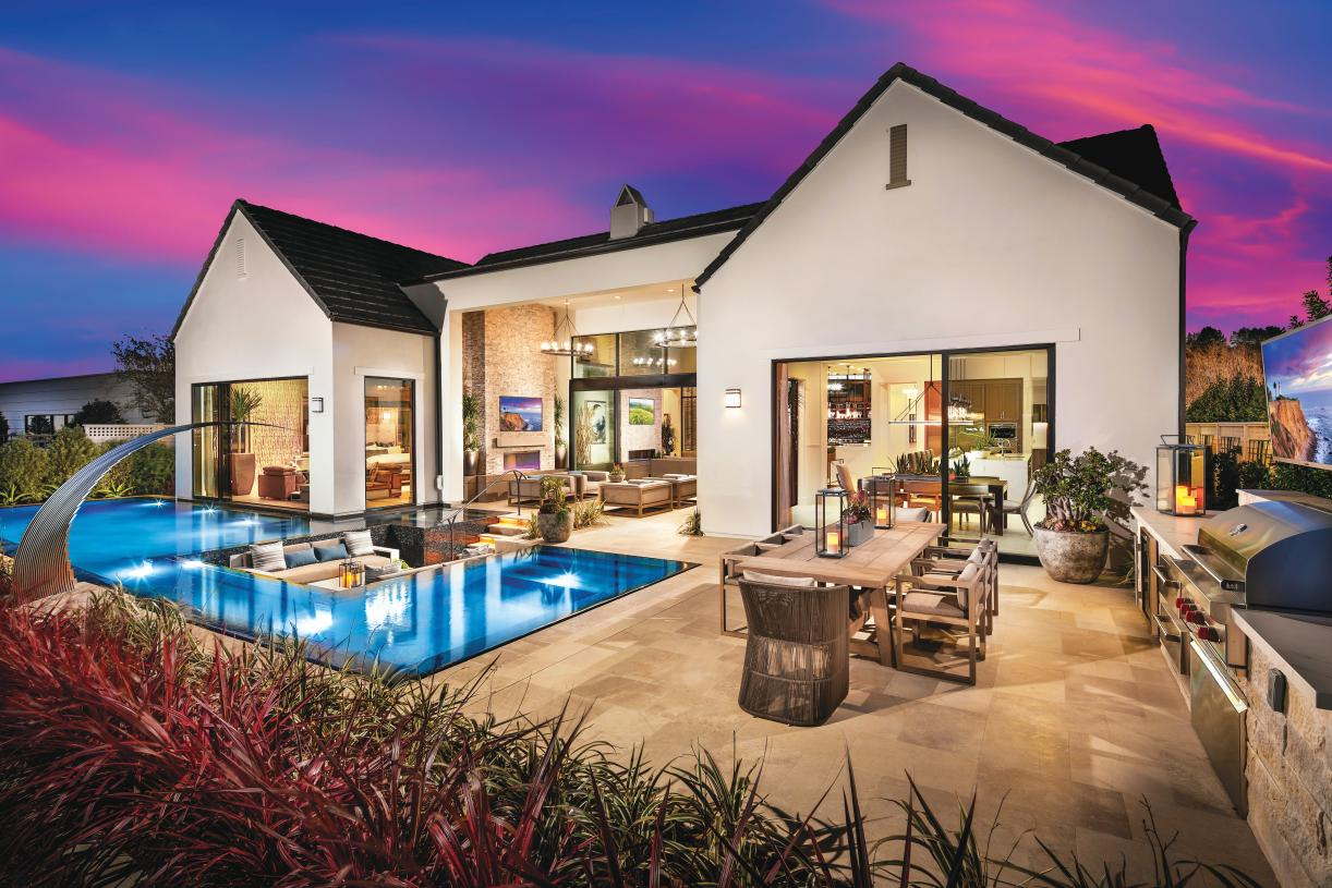Luxury outdoor living spaces perfect for entertaining