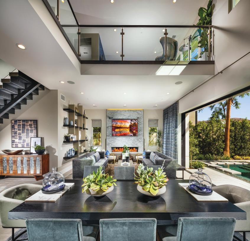 Lofts and flex spaces for additional living space options