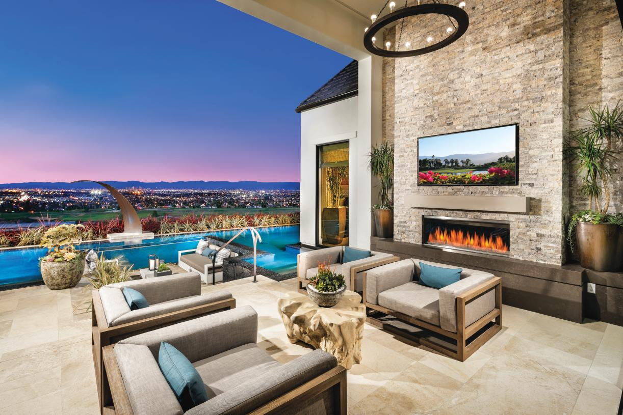 Luxury outdoor living spaces perfect for relaxing or entertaining