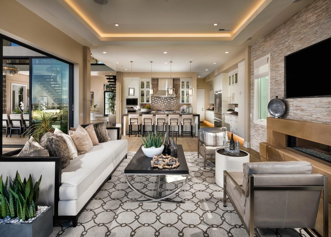 Spacious open-concept floor plans with indoor-to-outdoor flow