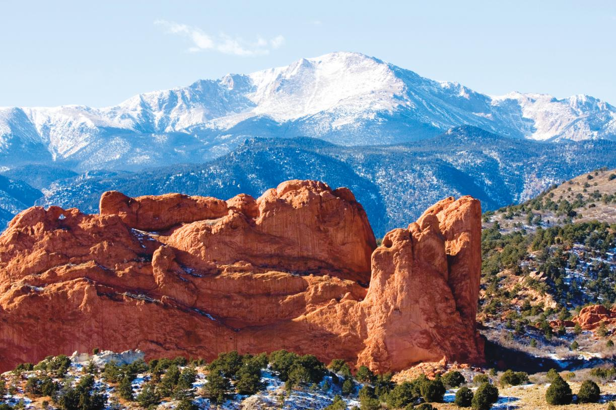 Breathtaking views of Pikes Peak and Garden of the Gods throughout the community