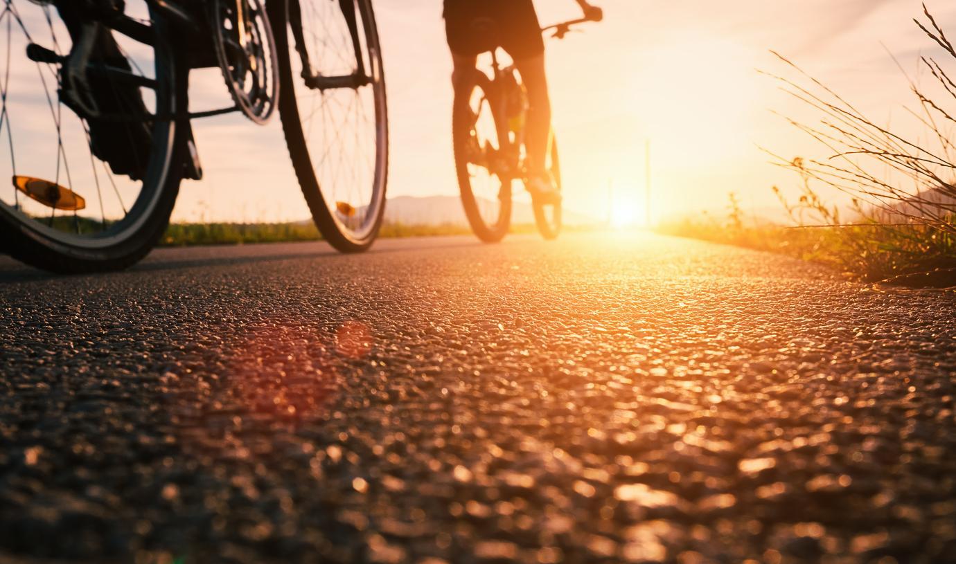 Enjoy time biking or walking on the community trails