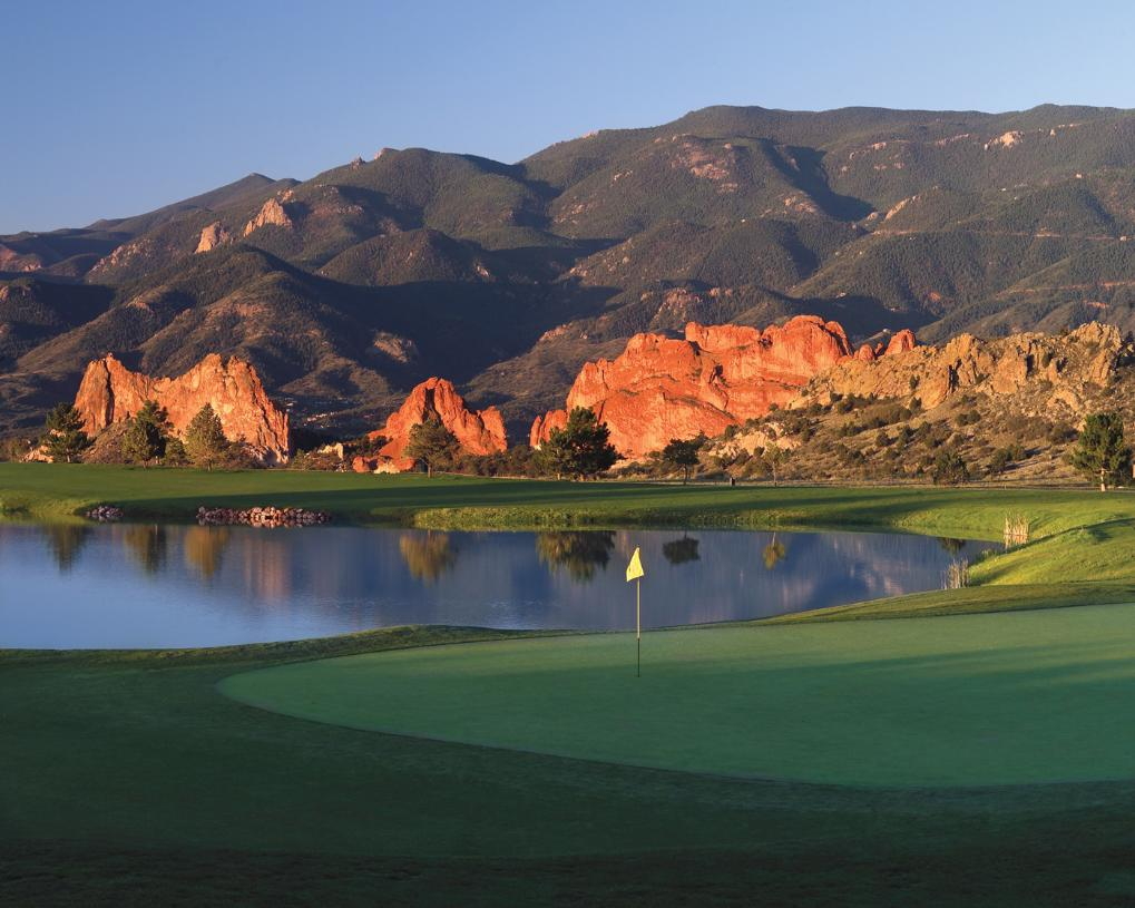 Sharpen your skills on the Championship 27-Hole Kissing Camels Golf Course