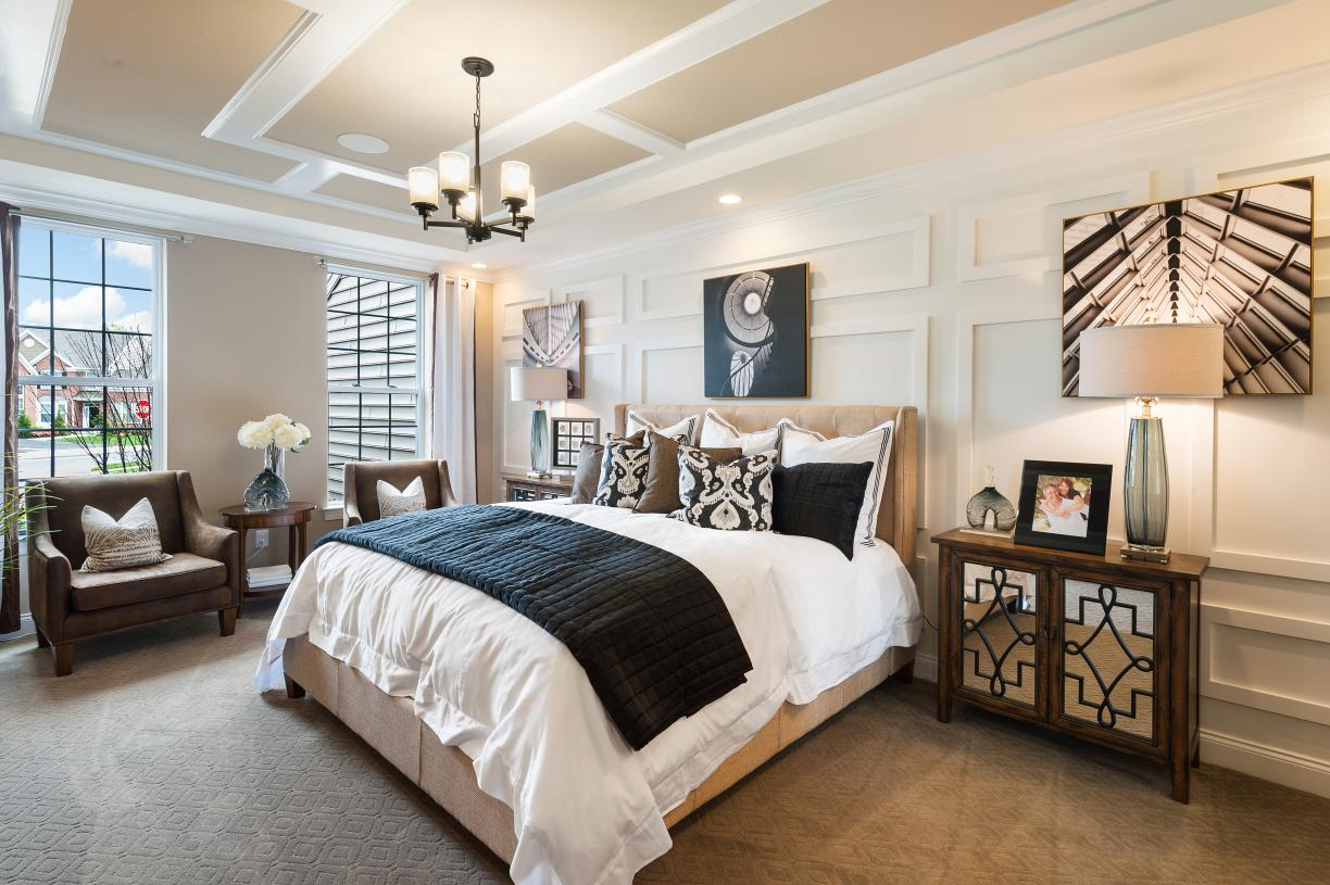Photos are images only and should not be relied upon to confirm applicable features - The primary bedroom is a true respite with its own sitting area, bathroom, and walk-in closet