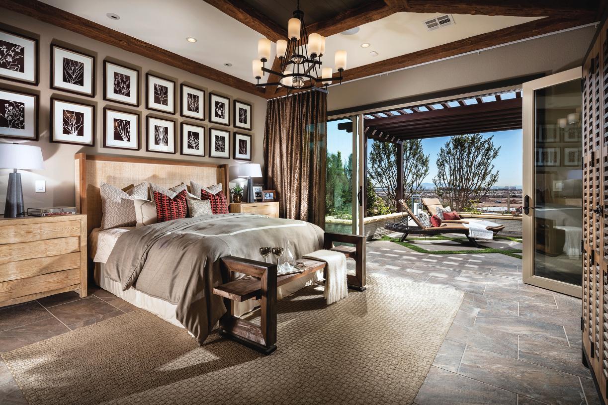 Serene primary bedroom suite