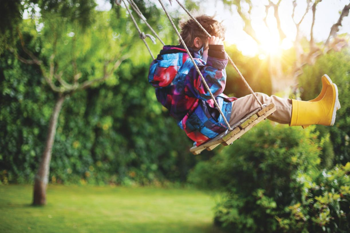 Adventure awaits at the numerous public parks nearby