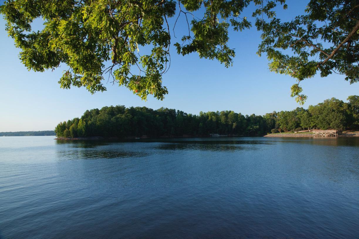 Idyllic home sites near the lake