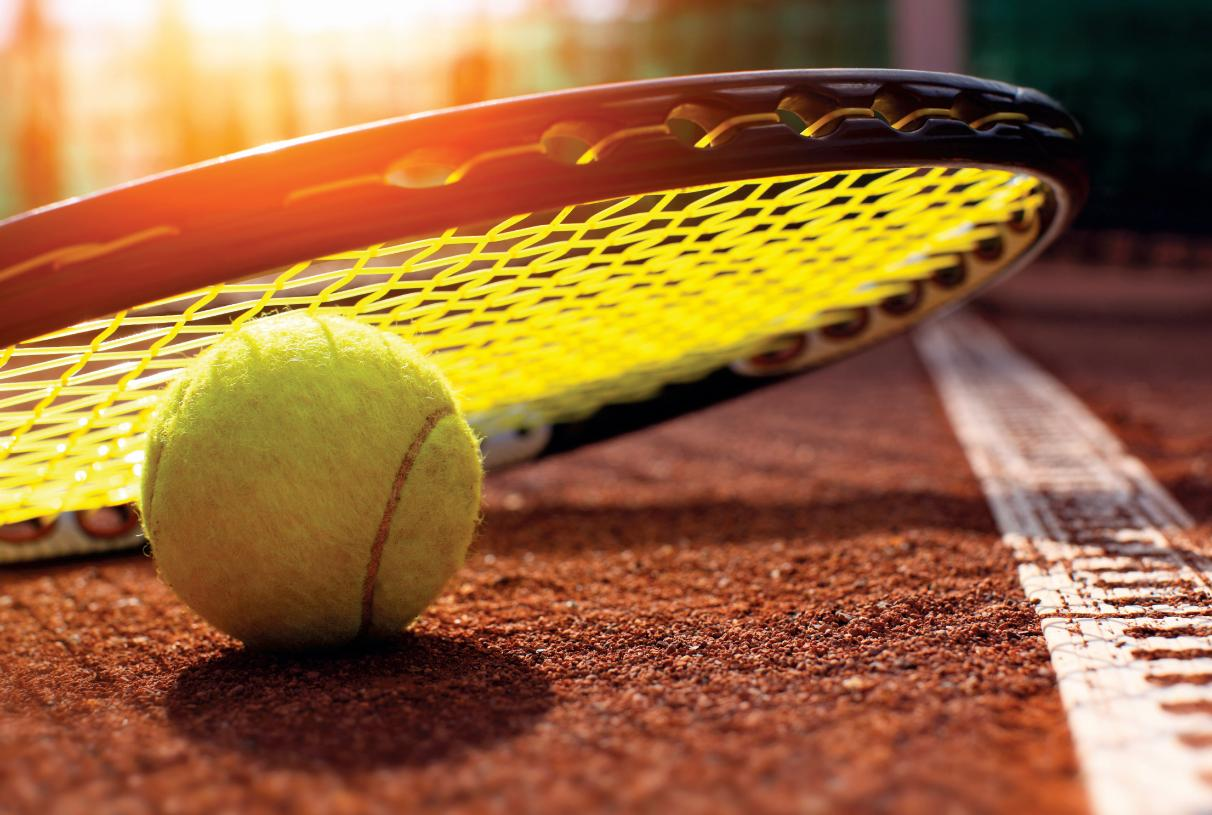 Perfect your swing at the tennis court