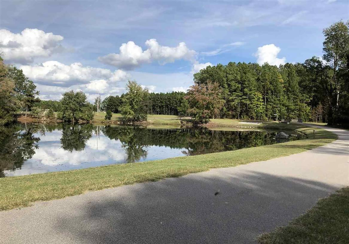 A nature lover's paradise with plenty of walking trails throughout the community