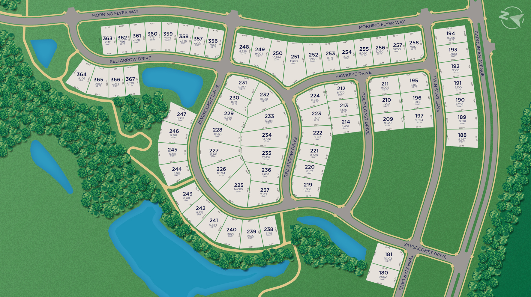 Knightdale Station - Site Plan