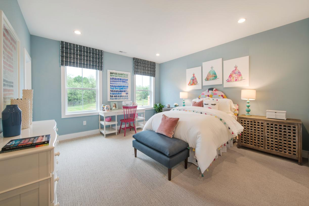 Large secondary bedrooms