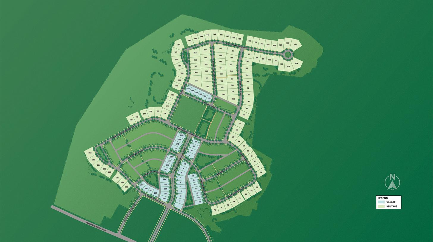 Brighton by Toll Brothers Overall Site Plan