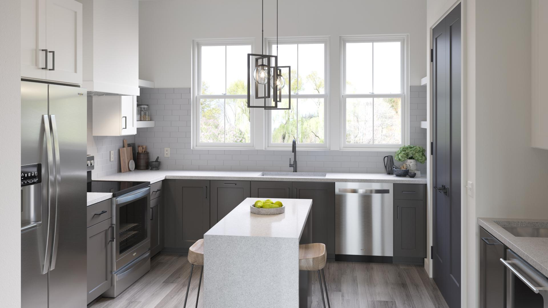 State-of-the-art gourmet kitchens