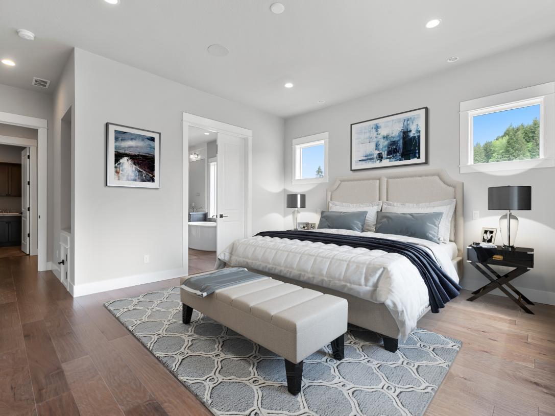 Spacious primary suite retreat