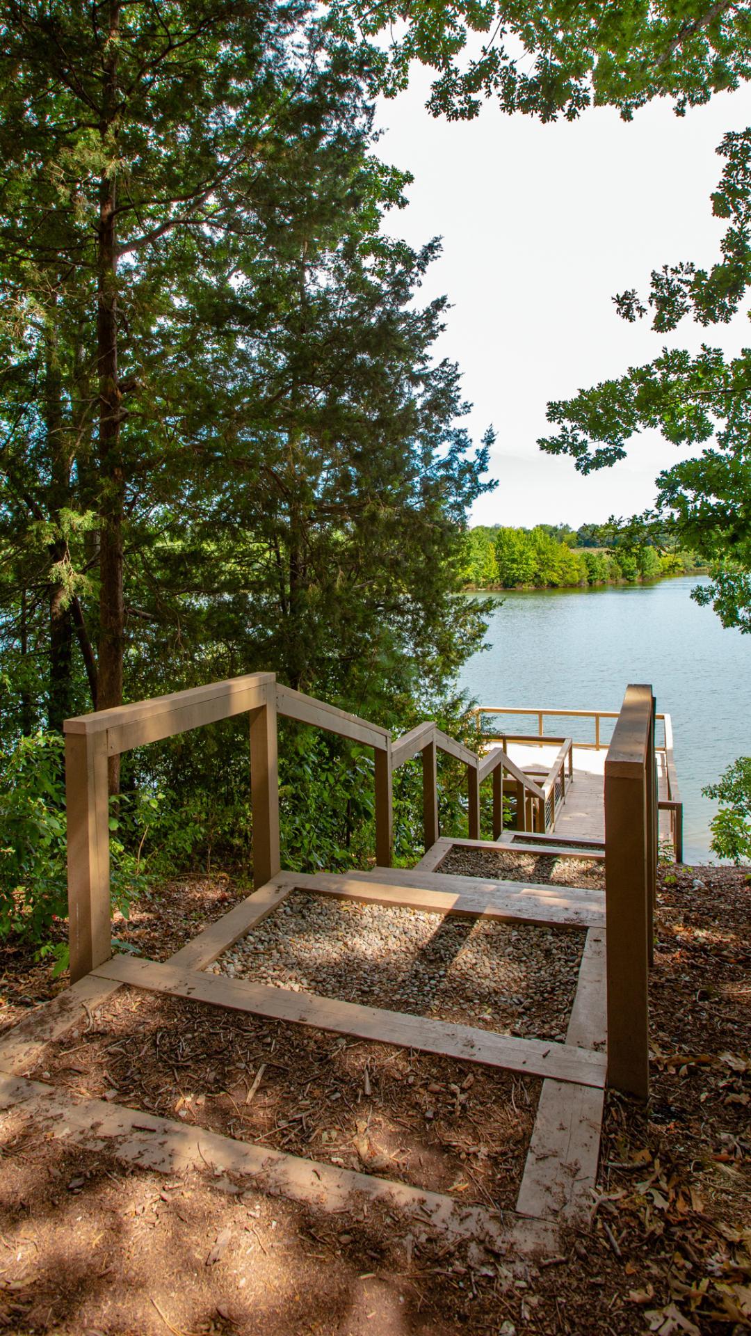 Enjoy kayaking and fishing at Holding Lake