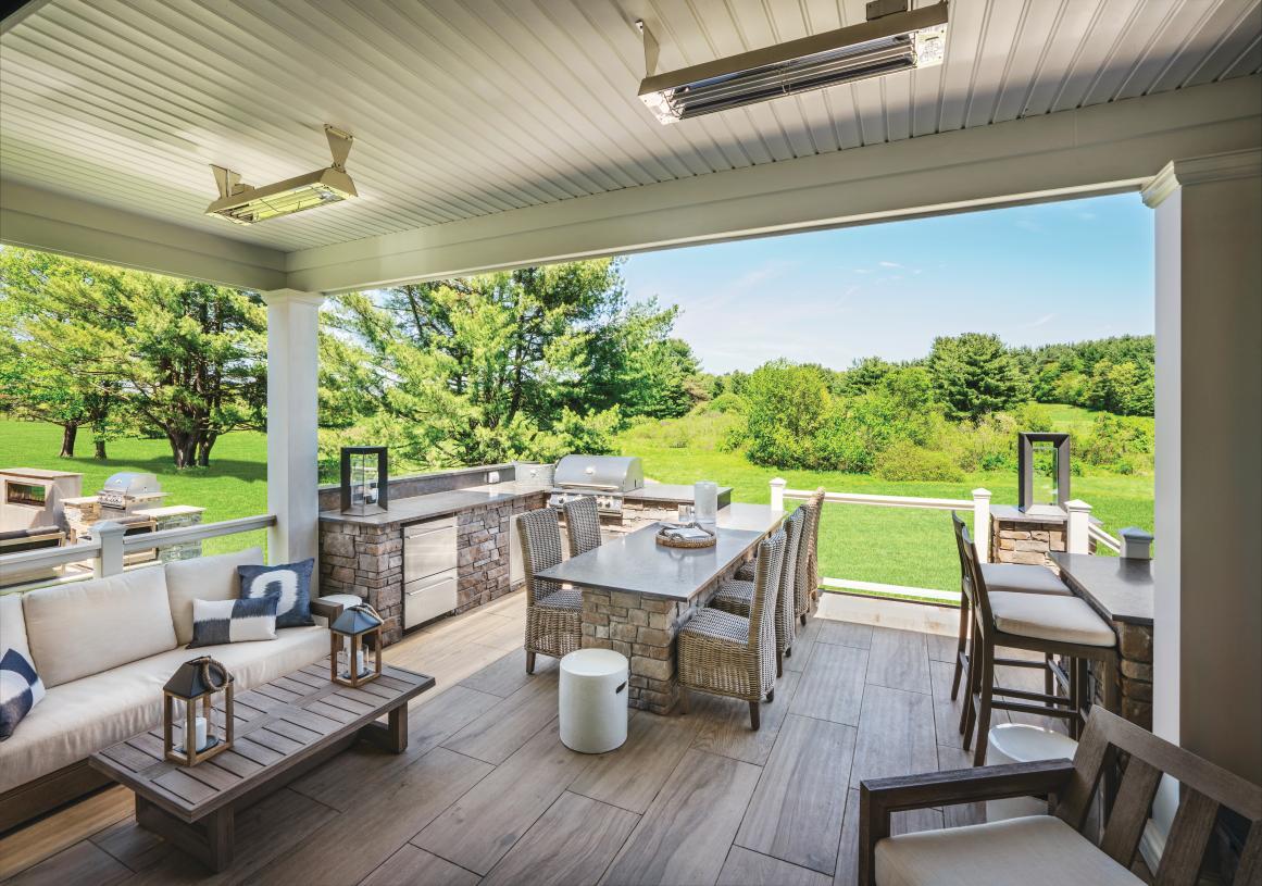 Indoor/outdoor living options