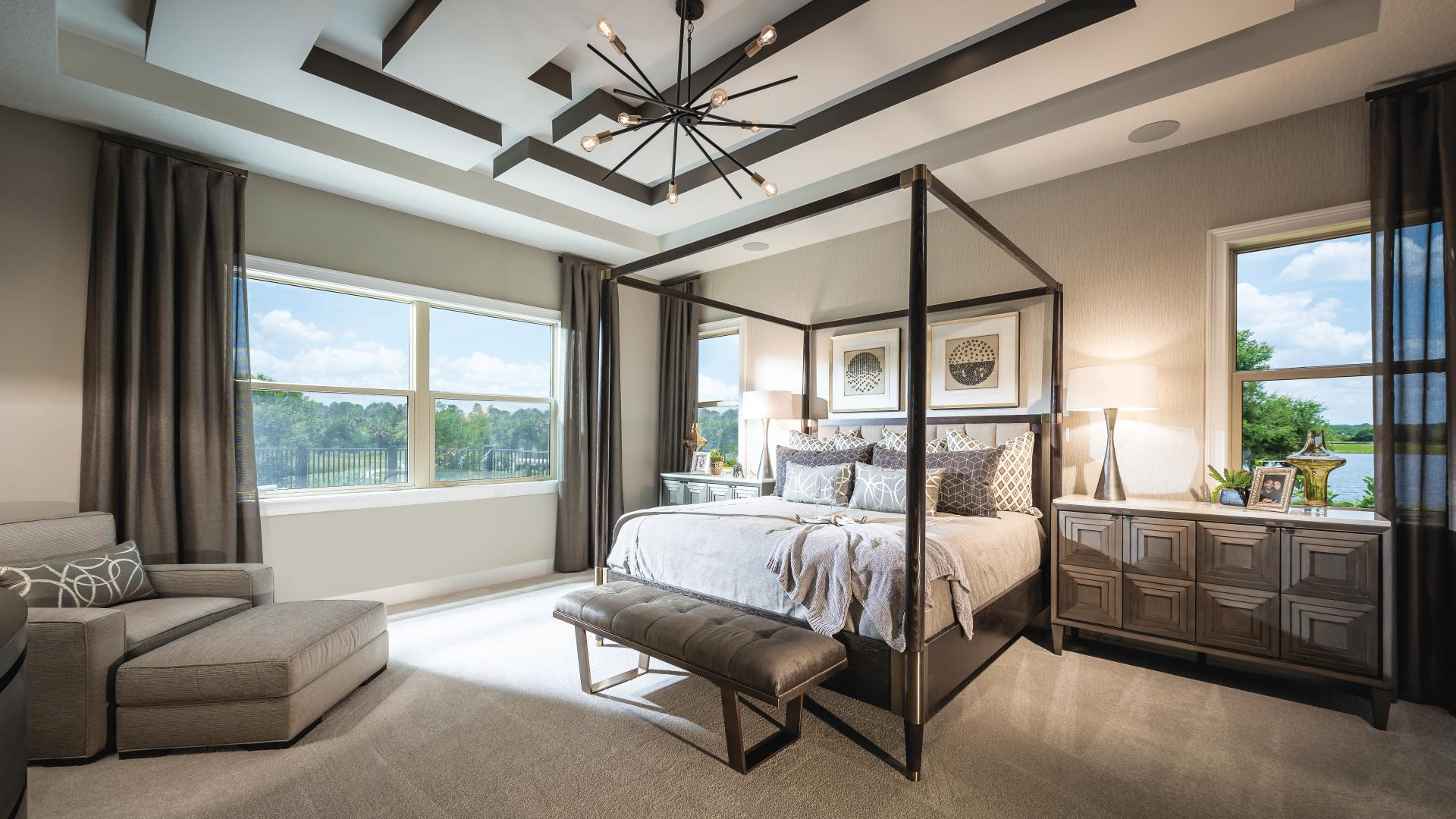 Private primary bedrooms