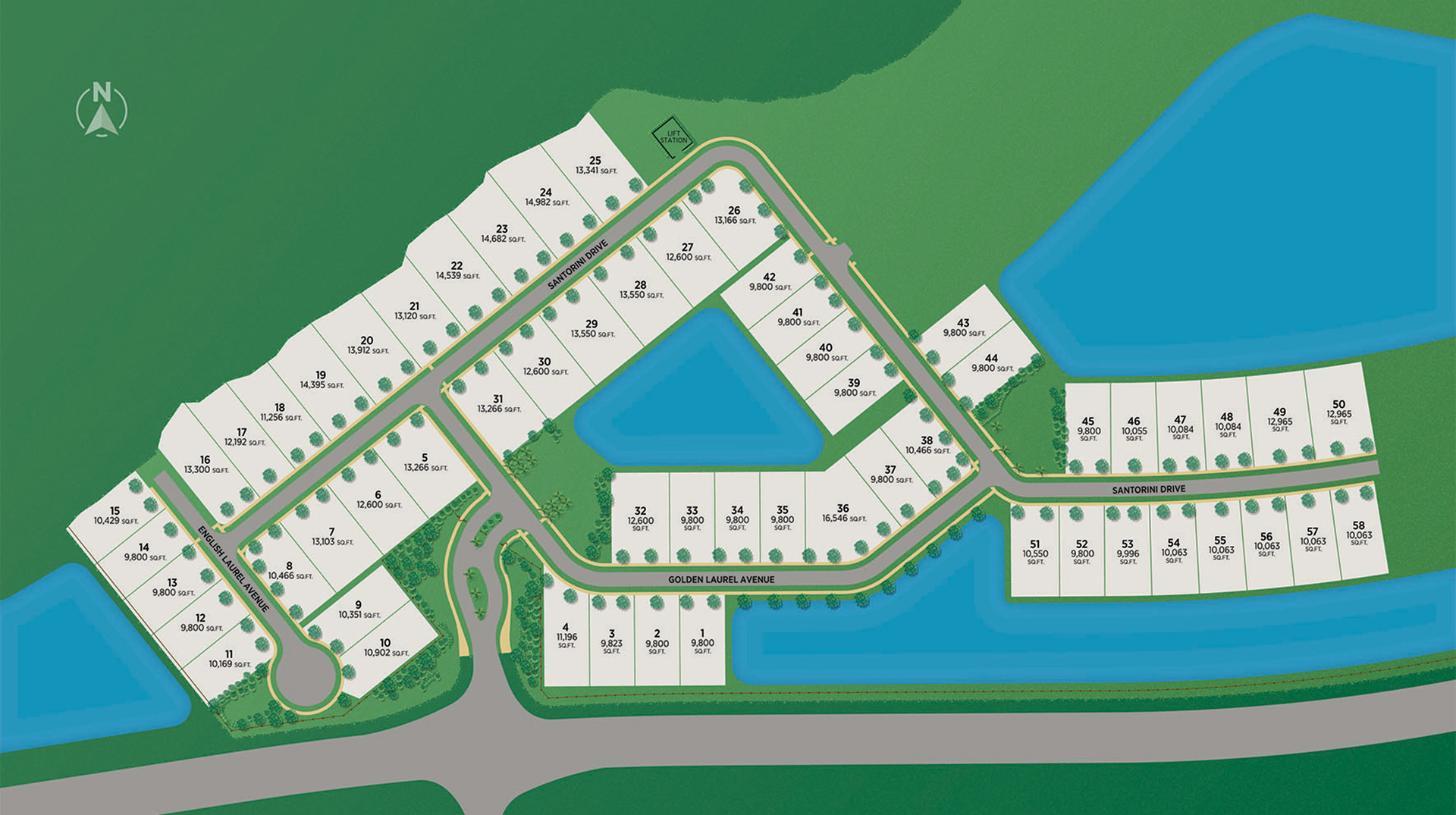 Laurel Pointe Lake Nona Site Plan