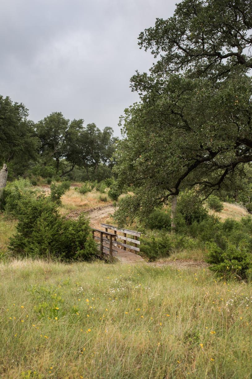 Explore the vast natural trails surrounding the community