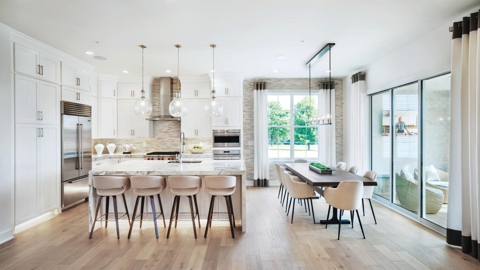 Stunning open concept living