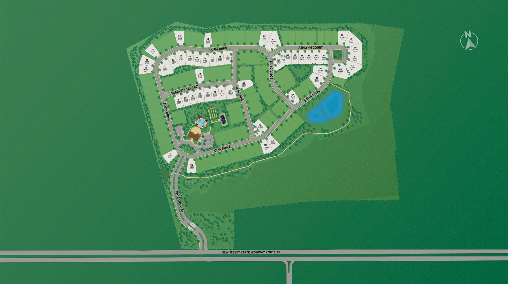 Regency at Manalapan - Preserve Site Plan