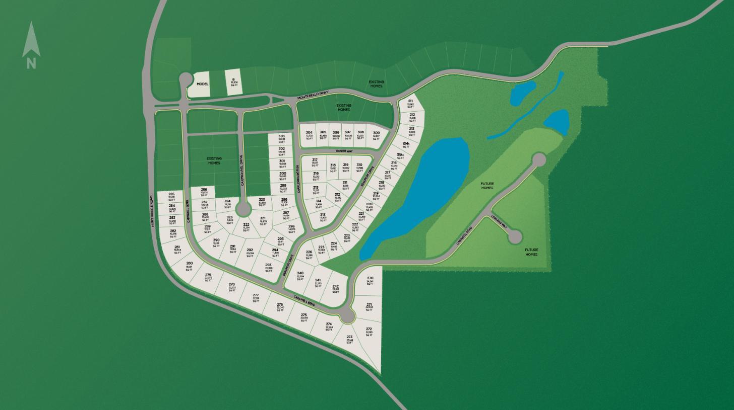 Montebello Site Plan