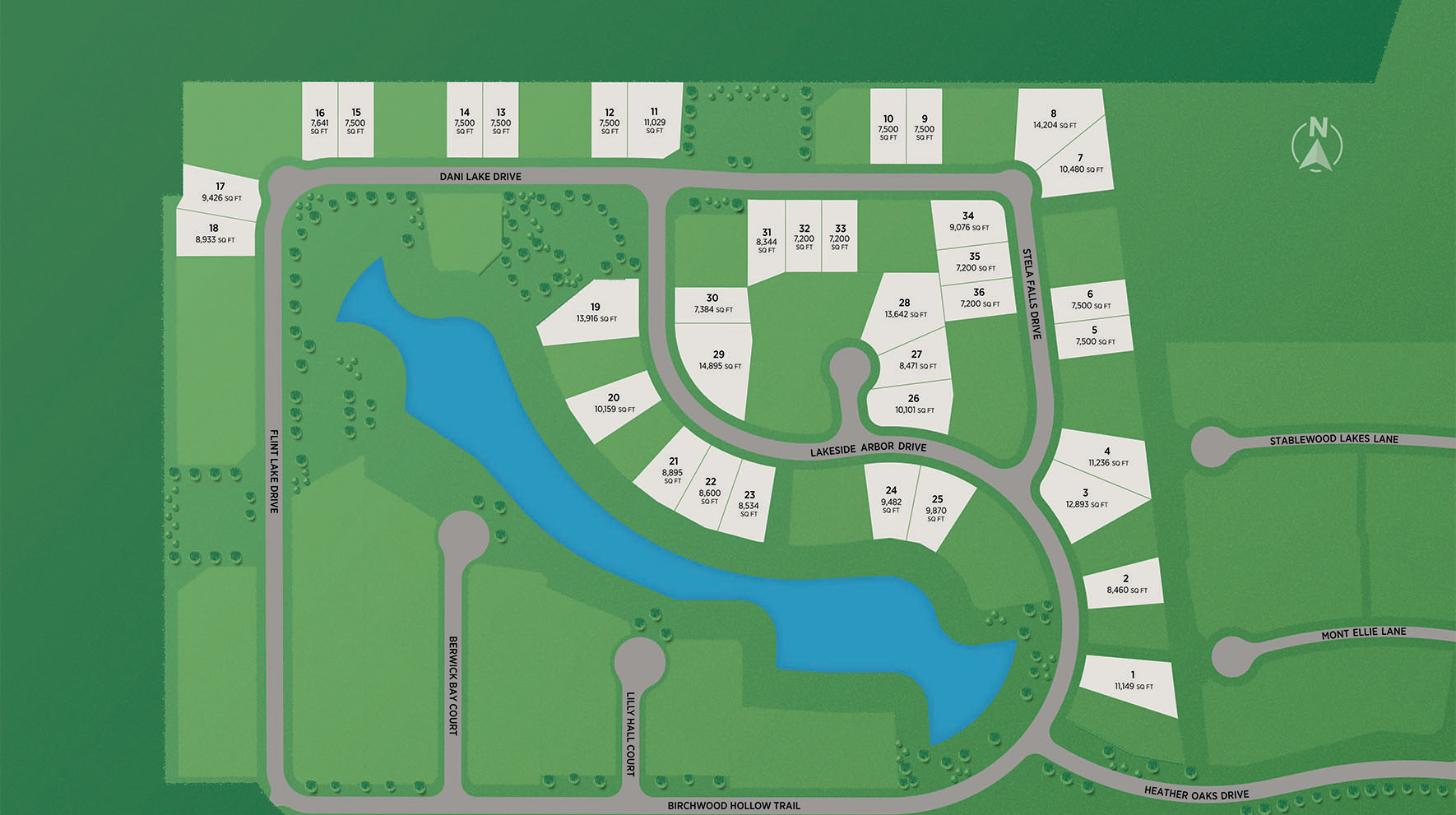 Lakes at Creekside - Select Collection Site Plan