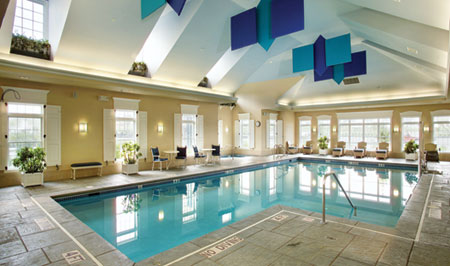 Relax at our Community Indoor Spa & Swimming Pool