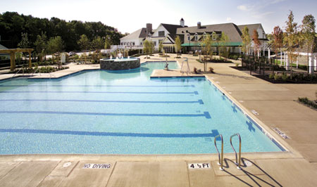 Swim a Few Laps in our Community Outdoor Olympic-Sized Swimming Pool
