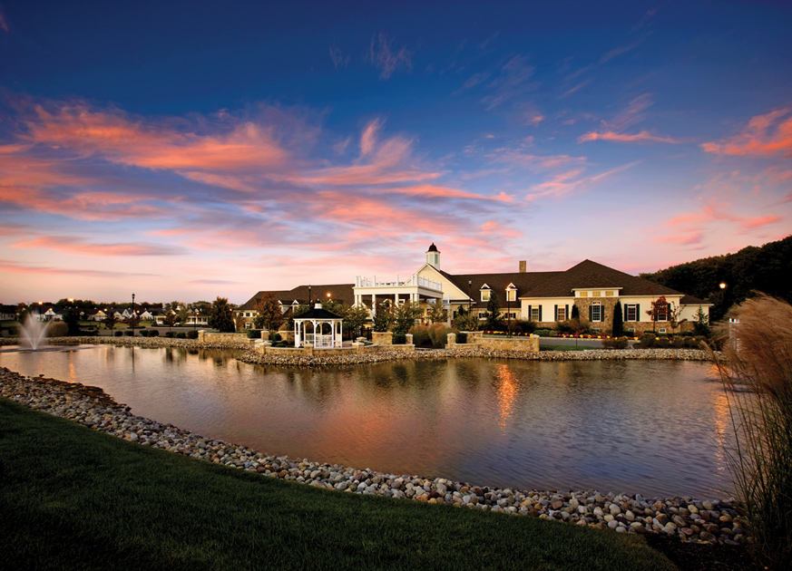 The Spectacular 40,000 sq. ft. Community Clubhouse at Regency at Monroe.