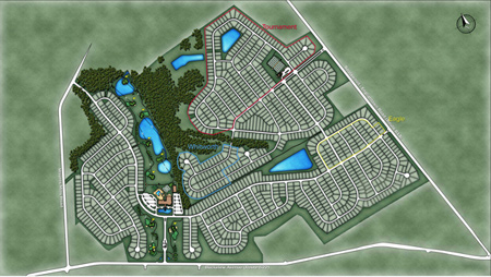 Regency at Monroe Site Plans