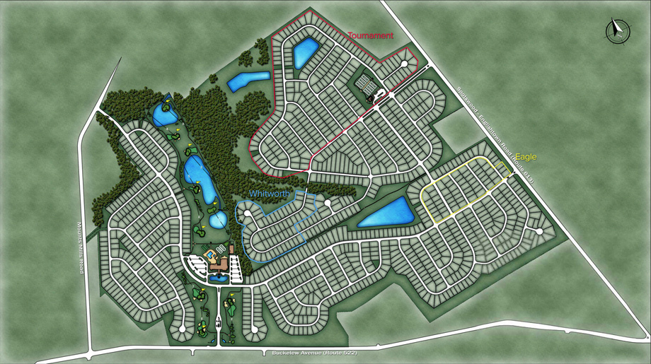 Regency at Monroe Overall Site Plan
