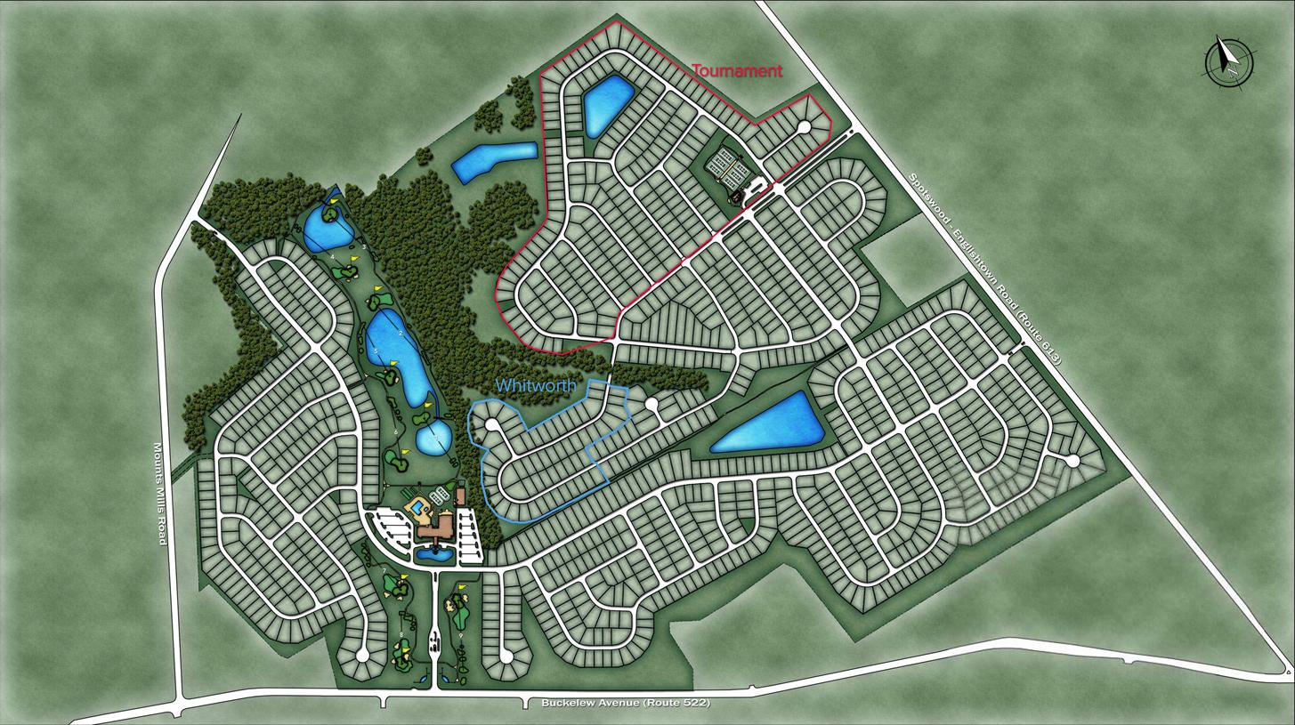 Regency at Monroe Overall Site Plan