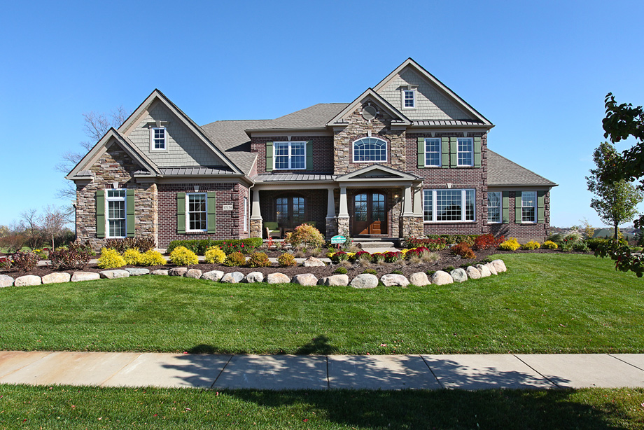 New luxury homes for sale in northville mi steeplechase House builders in michigan