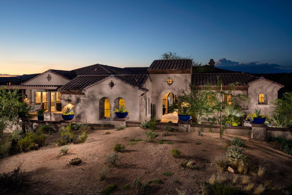 New homes in cave creek az new construction homes toll brothers - The cave the modern home in the mexican desert ...