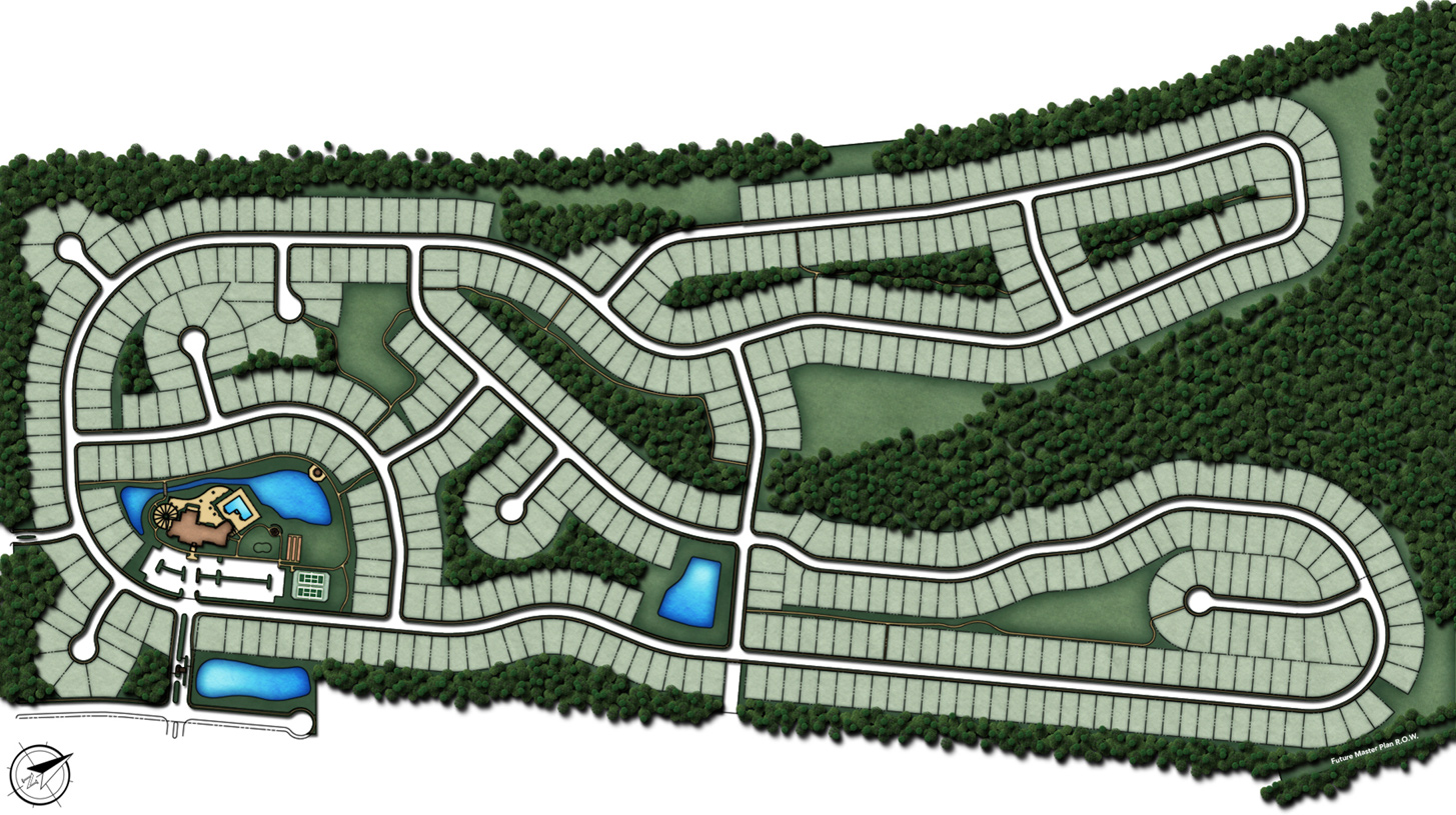 Sea Breeze at Lacey Overall Site Plan
