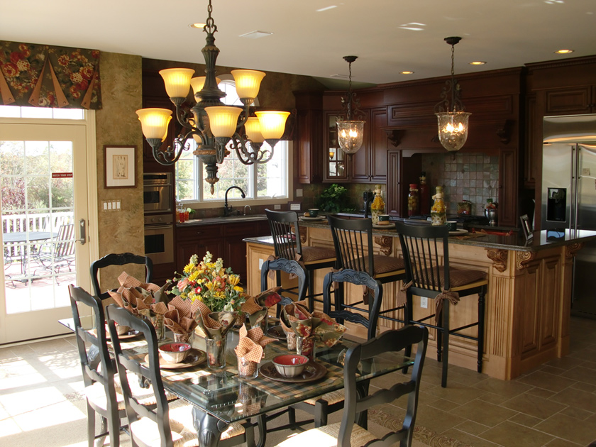 New luxury homes for sale in pittstown nj alexandria for Model homes images interior