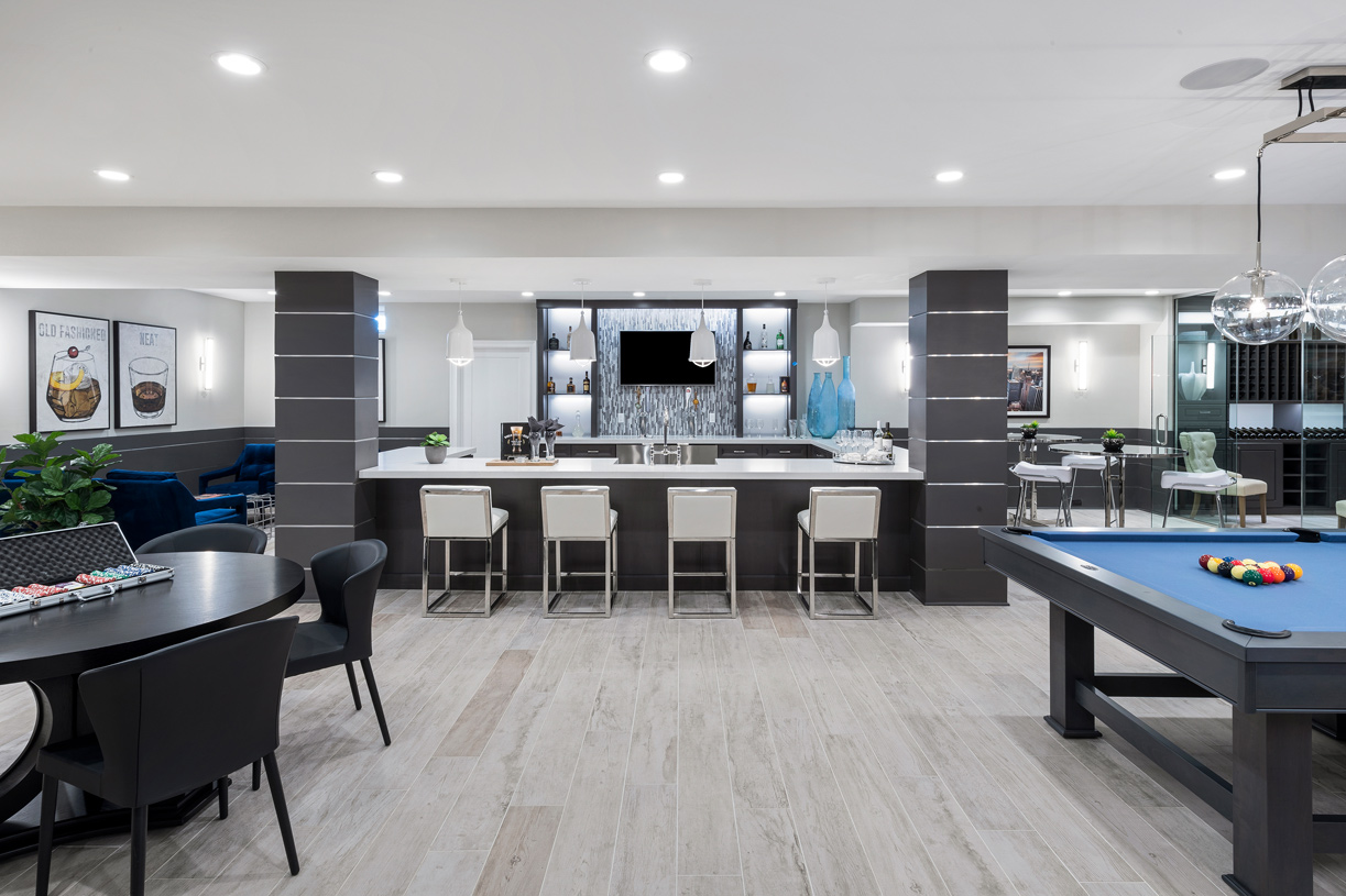 Spacious basements you can finish for the ultimate in entertaining space