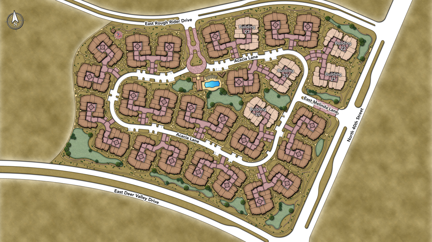 The Villages at Aviano Overall Site Plan