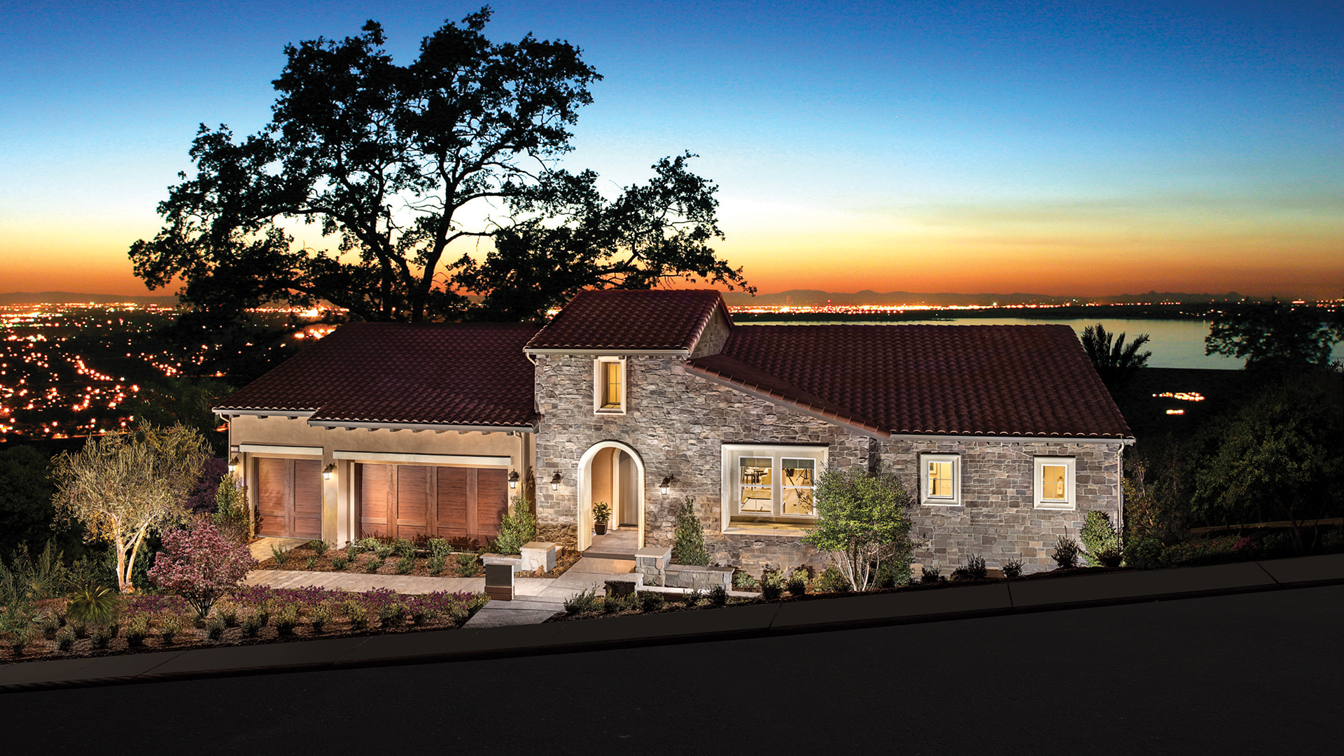 Villa Lago Showcases Magnificent Views Of Folsom Lake, The Sacramento  Valley And The Sierra Foothills