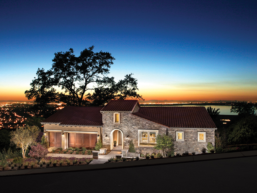 El Dorado Hills Ca New Homes For Sale Villa Lago At The