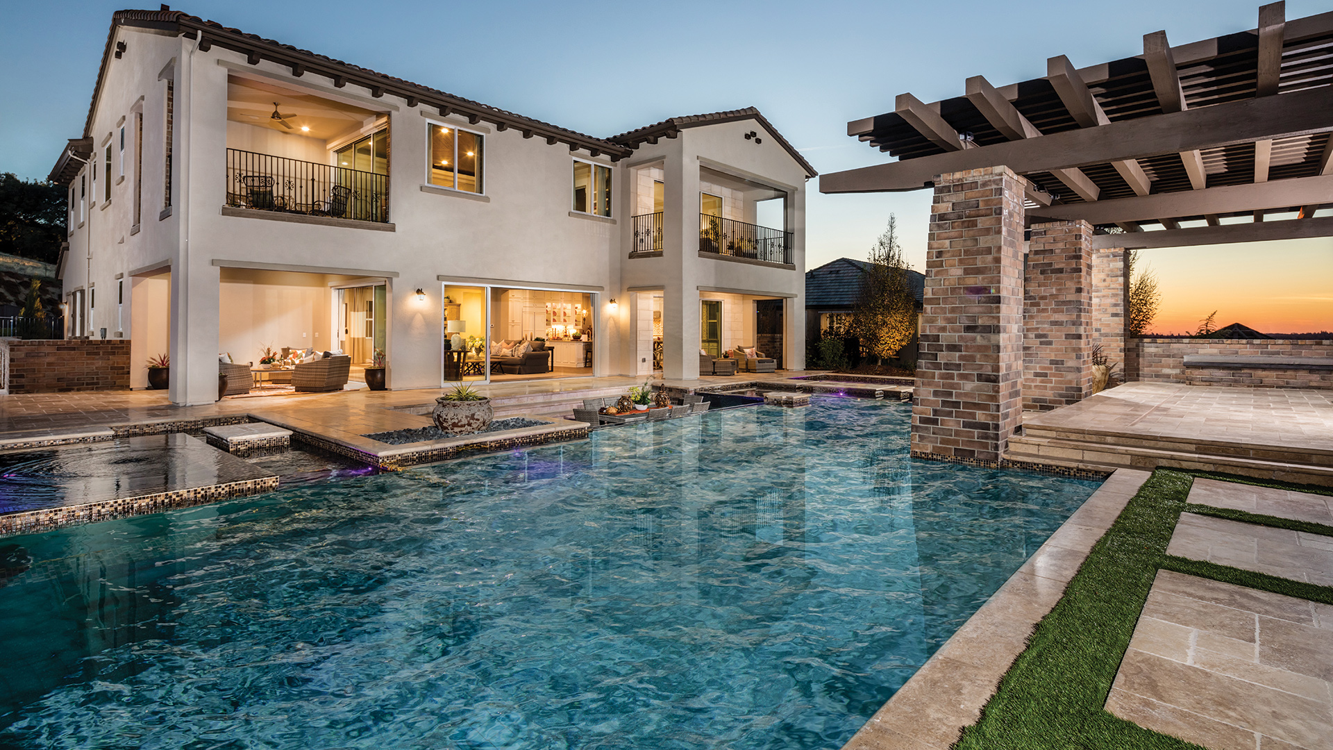 El Dorado Hills Ca New Homes For Villa Lago At The