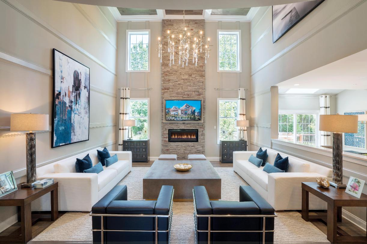 Stunning two-story great room