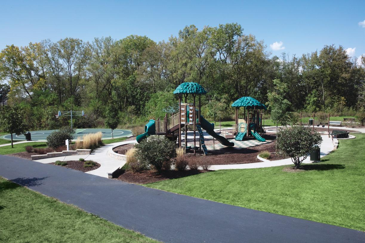 Two well-equipped play parks within the community and one more coming soon