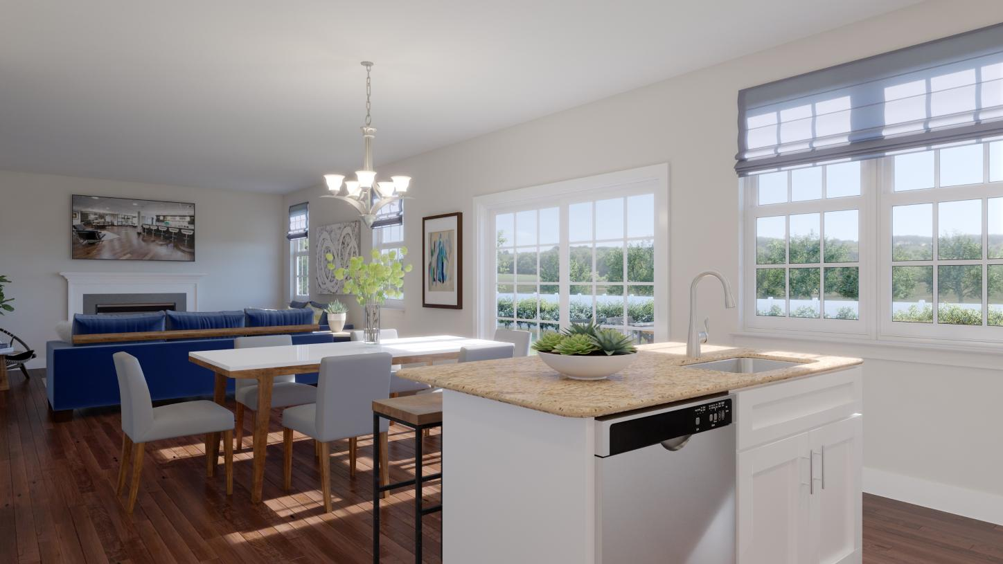 Open layout perfect for everyday living and seamless entertaining