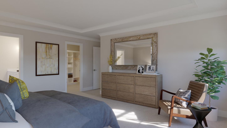 Primary bedroom suite - Alternate view