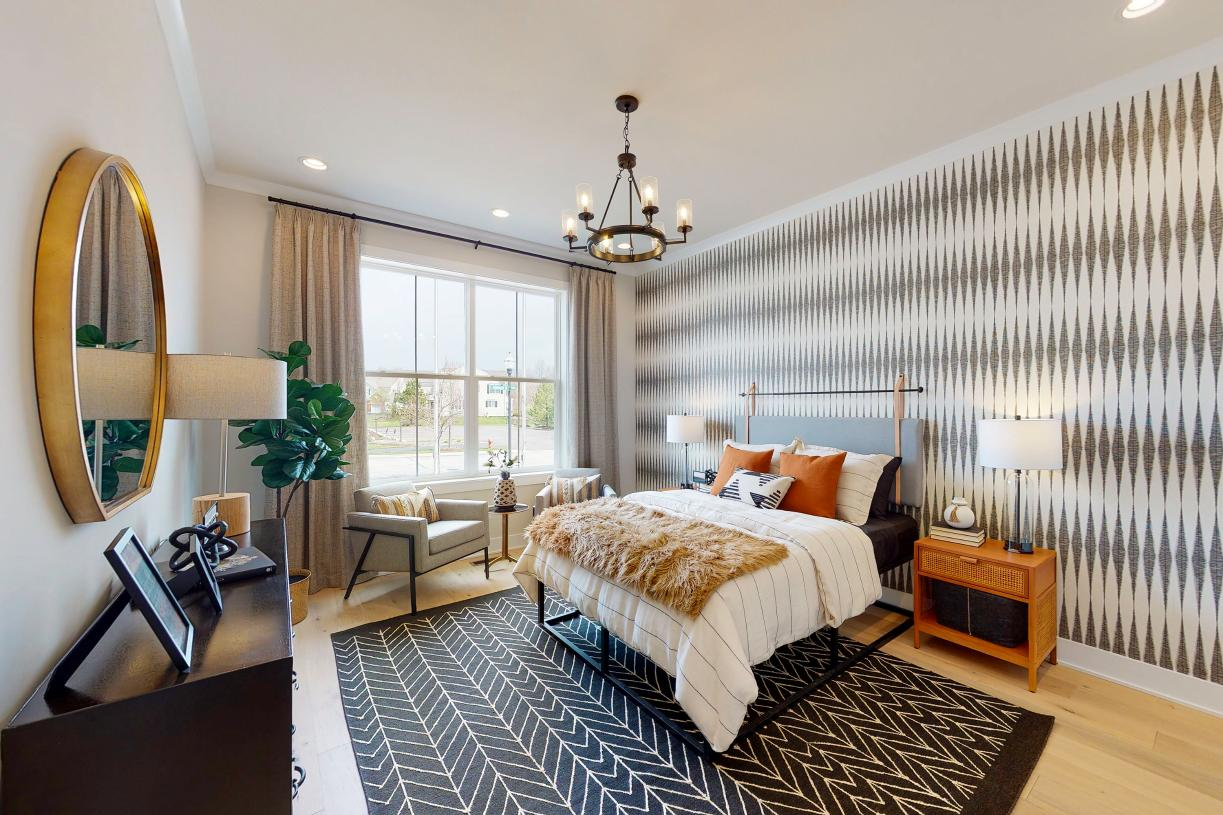 Sizable secondary bedroom