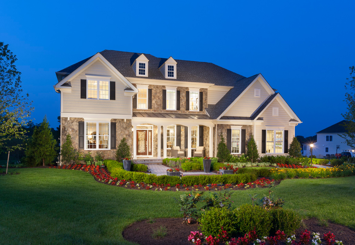 New homes in bel air md new construction homes toll for Luxury traditional homes