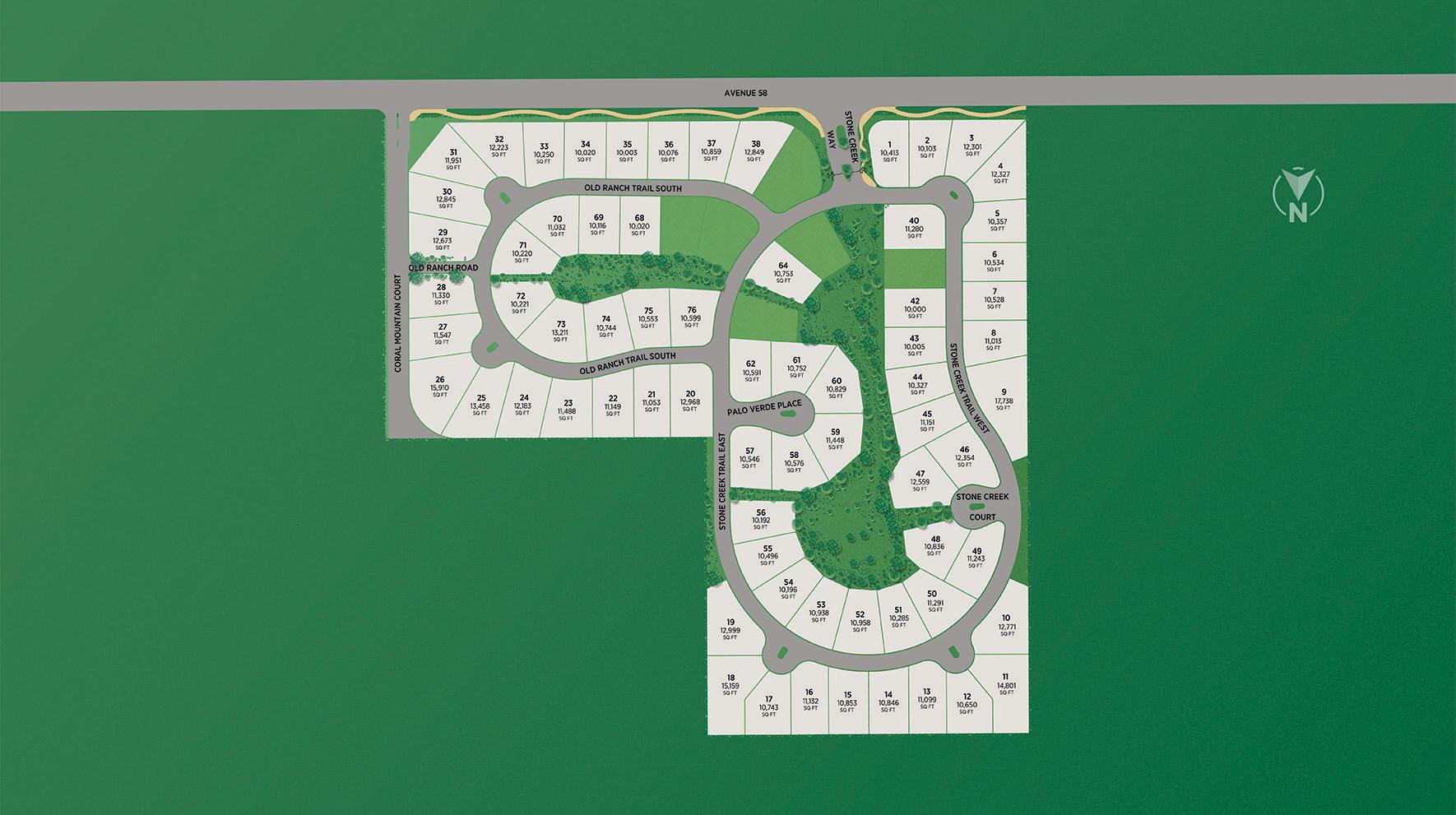 Stone Creek Ranch Site Plan