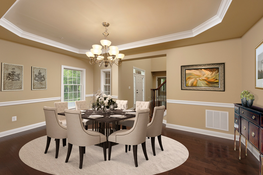 New luxury homes for sale in ellicott city md patuxent chase - Carolina dining room ...